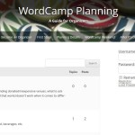 New Forum Available For WordCamp Organizers
