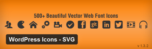 WordPress Icons SVG