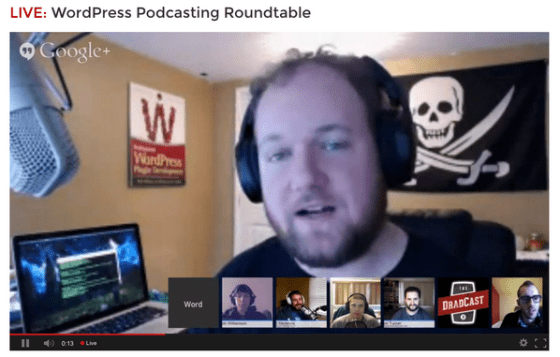 Podcasting Roundtable - photo credit: David Bisset