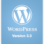 WordPress Version 3.3