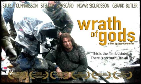 Gerard Butler in Wrath of Gods - a documentary about filmmaking