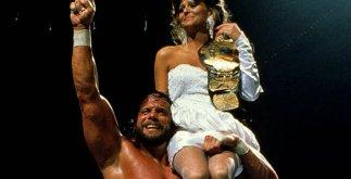 Macho Man and Elizabeth - Wrestlemania 4