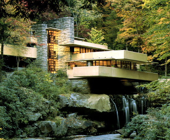 [Fallingwater: fall photo]