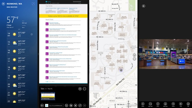 SnapView Multitasking Win8.1