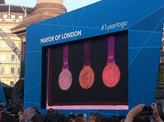 2012 olympic medals london
