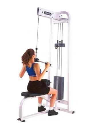 lifting weights to get fit