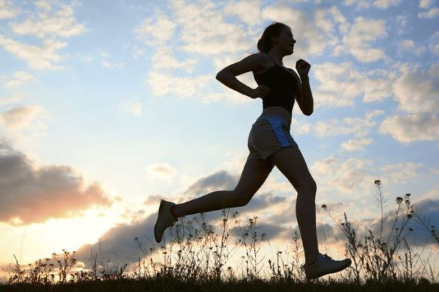 run to lose stubborn pounds