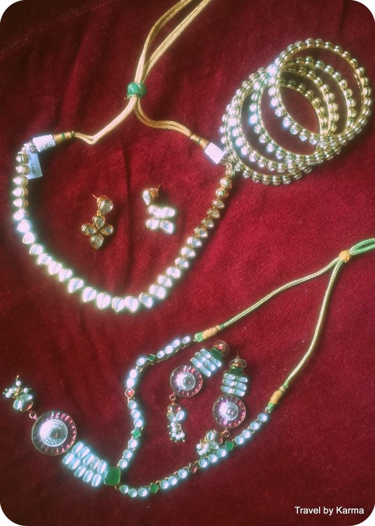 Artificial Kundan jewellery of Biknaer