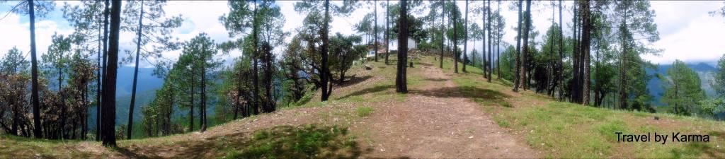 The final leg of trek in Uttarkashi
