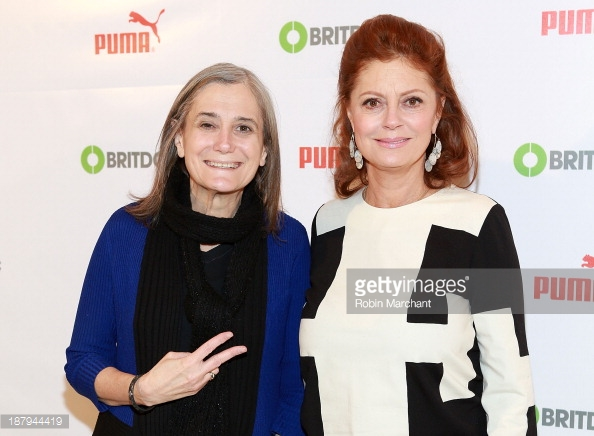 amy-goodman-and-susan-sarandon-attend-puma-gettyimages