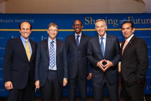 Gates Kagame Blair