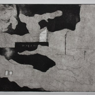 From Toby's new series of etchings, Urban Electrification Project.