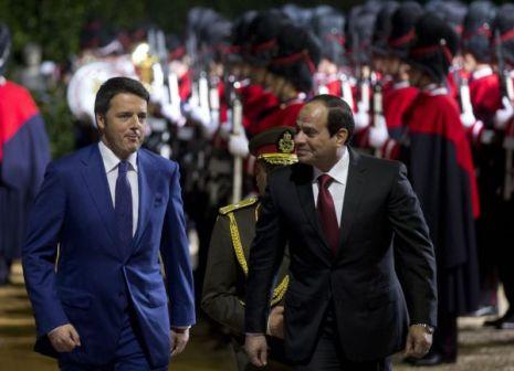 Renzi e al-Sisi