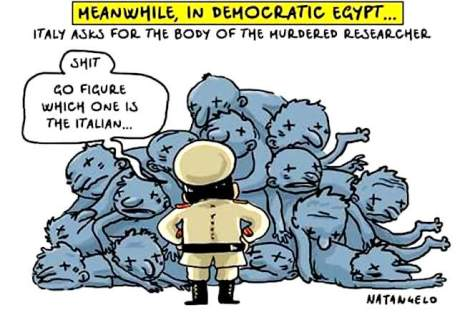 Meanwhile, in democratic Egypt...