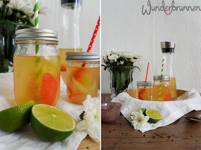 Grüner Eistee - Wunderbrunnen - Foodblog - Fotografie