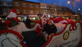 Santa Wednesfield Lights 2012  (15)