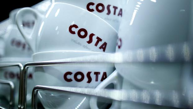 Costa coffee shop in Mapperley, Nottingham