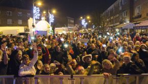 Wednesfield Christmas Lights 2014