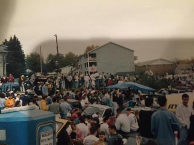 The Pit - Oct. 24, 1992. The last time WVU played Penn State.