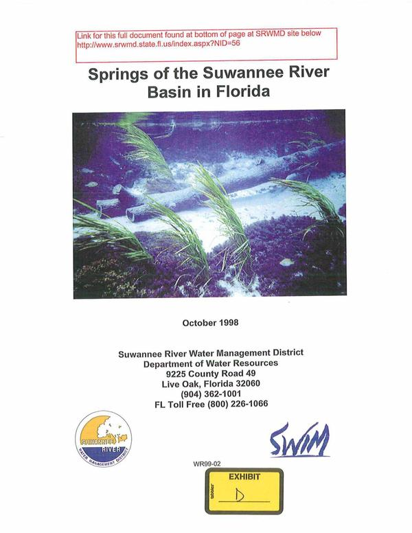 600x776 Springs of the Suwannee River Basin in Florida, in TSE Plantation against Sabal Trail pipeline, by Thomas S. Edwards, Jr., for WWALS.net, 29 January 2015
