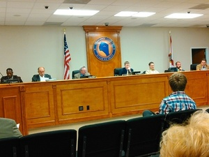 Commissioner Wainwright proposes to send the letter