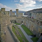 Conwy Castle Inner Courtyard (Facing East)