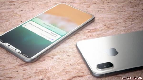 Một bản concept iPhone 8 được đăng tải trên mạng