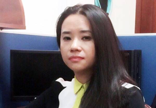Nguyễn Thị Khéo lập lúc bị bắt. Ảnh: Công an cung cấp.