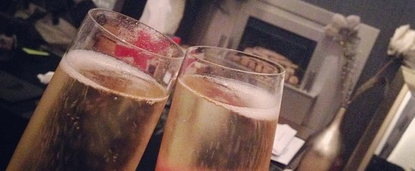 moving in, celebration, champagne glass clinking