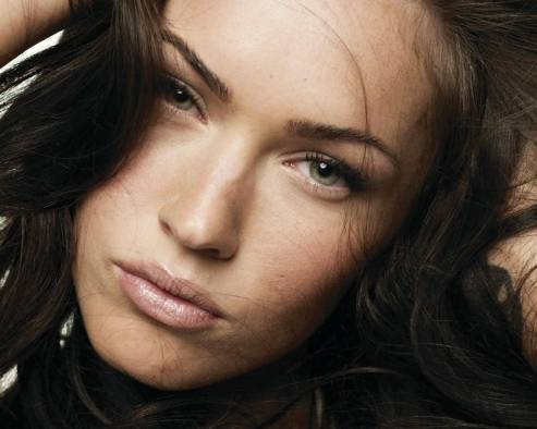 Megan Fox Beautiful Face Picture