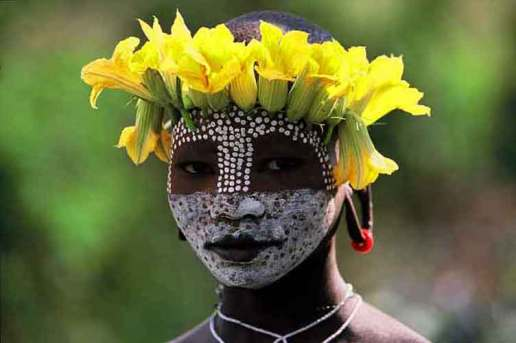 Omo Ethiopia Body Painting