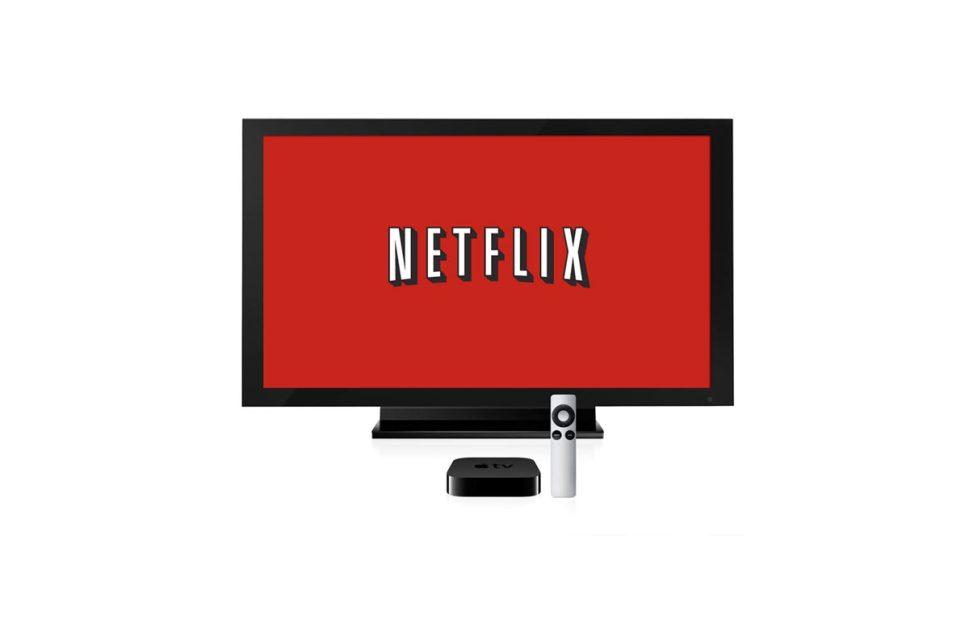 Netflix fait des étincelle sur l'Apple TV.