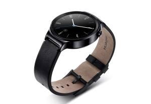 La Huawei Watch et son verre saphir.