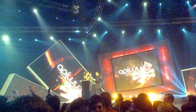 Βραβεία Αρίων stage
