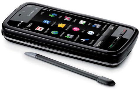 Nokia 5800 XpressMusic touch screen