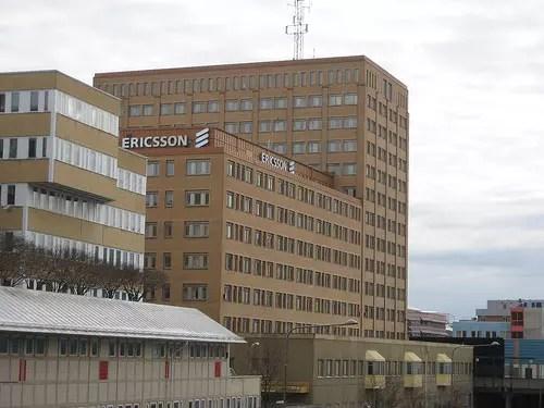 Το κτίριο της Ericsson στη Σουηδία