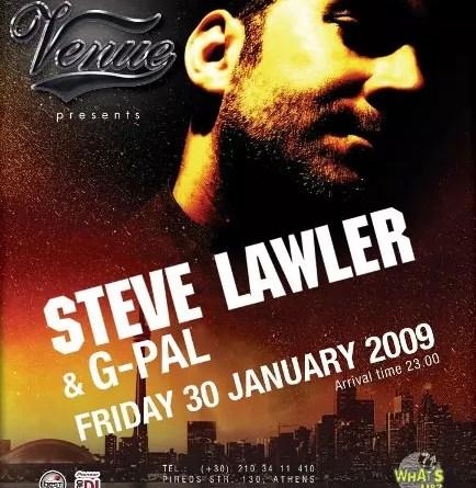 Venue presents Steve Lawler