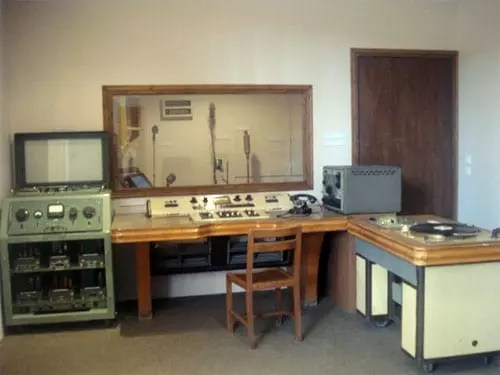 Παλιό ραδιοφωνικό στούντιο