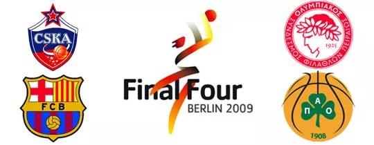 Euroleague Final Four Berlin 2009