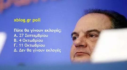 Εκλογές, xblog.gr poll