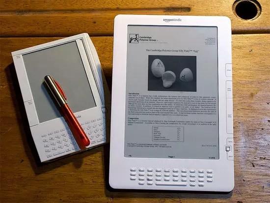Amazon Kindle, e-Reader