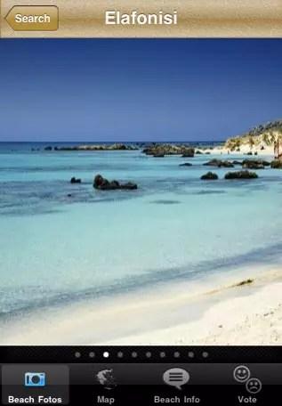 Beaches iPhone App