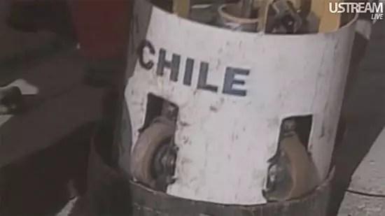 Απεγκλωβισμός μεταλλωρύχων Χιλής