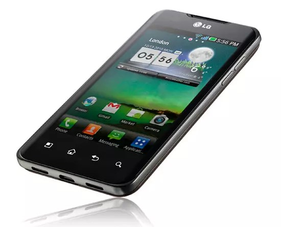 LG Optimus 2X Hands On Video