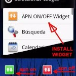 APN On/Off Widget