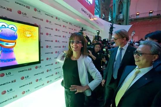 LG Cinema 3D παρουσίαση στο Παρίσι