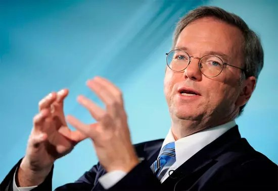 Eric Schmidt, διάλεξη του Executive Chairman της Google στο Μέγαρο Μουσικής