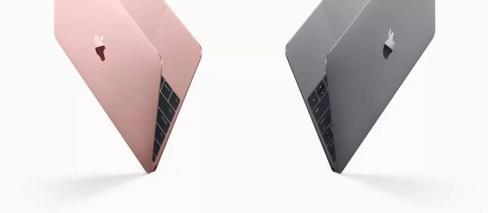 Apple MacBook 2016 Pink - Gray