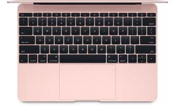 Apple MacBook 2016 pink