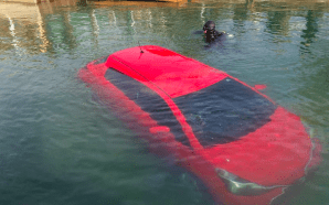GPS car lake fail